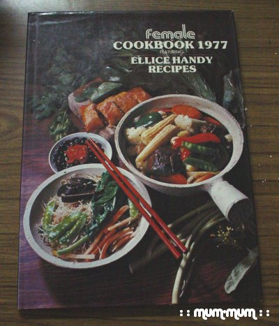 Female Recipe Book 1977