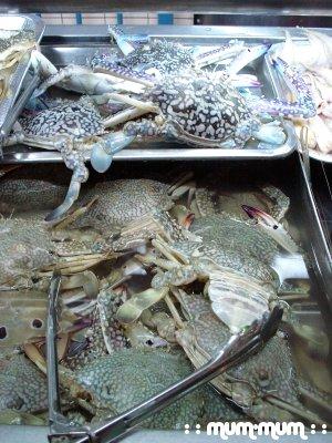 Imported Frozen Crabs