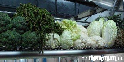 More Fresh Vegetables