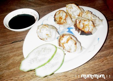 Fried Dumplings with Spicy Soy Sauce