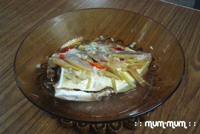 Steamed Fish
