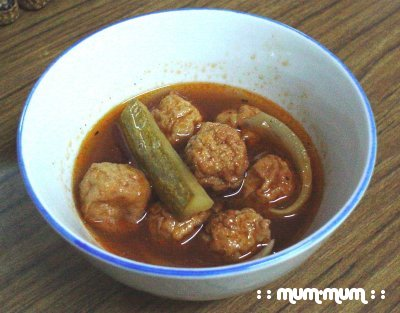 Sweet and Sour Fishball
